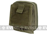 Condor MOLLE Deluxe Multi-Purpose Tactical Map Pouch - OD Green