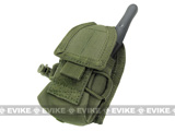 Condor MOLLE Multi-Purpose Handheld FRS Radio MOLLE Pouch (Color: OD Green)