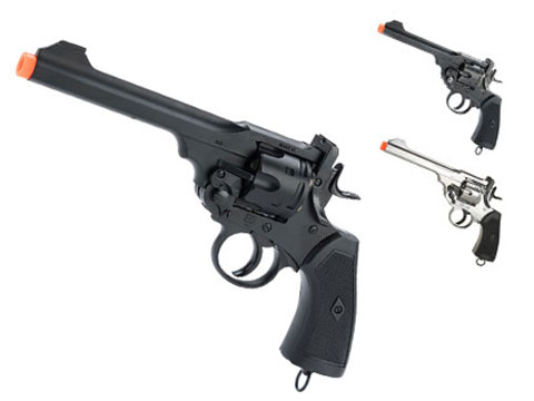 English Webley Licensed MK VI Airsoft Revolver by Win Gun