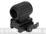 z UTG Flip-to-Side 27mm Tactical Flashlight Ring w/QD Lever Lock Picatinny Mount
