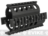 Matrix CNC Aluminum RIS Rail System for AK74U Series Airsoft AEG