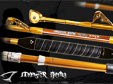 Jigging Master Monster Game 50lb Class (30~80LB) Trolling Rod