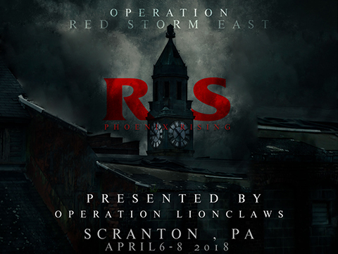 Operation Red Storm East 2018 (April 6th - 8th, 2018 , Scranton Lace Factory , Scranton, Pennsylvania)