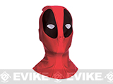 Marvel Licensed Deadpool Fabric Overhead Mask