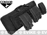 "Condor 42"" Double Tactical Rifle Case. (Black)"