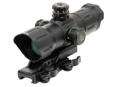 UTG 6 ITA Red/Green CQB Dot Sight with Offset QD Mount (Type: T-Dot)