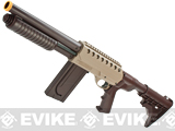 SPAS USMC Licensed SS01 Airsoft Shotgun w/ Hi-cap Magazine & LE Stock