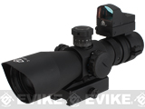 Trinity Force Recon-1 3-9x42 Illuminated Tactical QD Scope (Red/Green/Blue) w/ Micro Dot