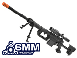 M200 .408 Type Bolt Action Sniper Rifle by 6mmProShop (Black)