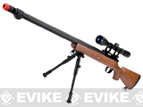 Matrix VSR10 MB07 Bolt Action Sniper Rifle w/ Bipod (Imitation Wood)