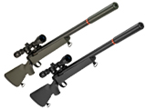 Tokyo Marui VSR-10 G-Spec Airsoft Sniper Rifle with Mock Suppressor (Color: Matte Black)