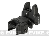 Dual-Profile Rhino Flip-up Rifle / SMG Sight by Evike - Front Sight / Black