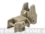 Dual-Profile Rhino Flip-up Rifle / SMG Sight by Evike - Front Sight / Dark Earth