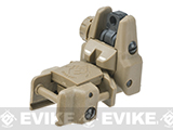 Dual-Profile Rhino Flip-up Rifle / SMG Sight by Evike - Rear Sight / Dark Earth