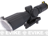 AIM Rubber Armored 3-9x42 QRM Dual Illuminated Rifle Scope