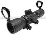 z NC STAR 4x30 Rubber Coated Full Metal Illuminated Cross Hair Mildot Scope w/Rings