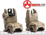 Magpul PTS Licensed MBUS-II Gen 2 Back-Up Flip-up Front & Rear Sight Set - Dark Earth