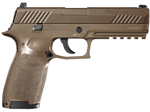 SIG Sauer P320 CO2 Powered Blowback Air Pistol (Color: Coyote Tan)