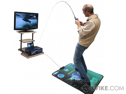 Scatri SimFish Fishing Simulation System (Package: Rent SimFish)