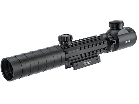 UFC 3-9X32 Illuminated Scope with Tri-Rail Integrated Accessory Rails