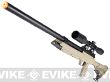 Matrix SR-2 MB06 Shadow Op Bolt Action Airsoft Sniper Rifle w/ LE Stock by WELL - Desert (2 Mags)