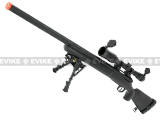 Echo1 M28 Bolt Action Airsoft Sniper Rifle w/ Bipod - Black
