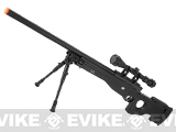 z Mauser Licensed Airsoft Shadow Op. Bolt Action Spring Powered Sniper Rifle with Bipod and 3-9x40 Scope
