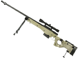 WELL G96 Gas Powered Full Size Airsoft Sniper Rifle (Tan)