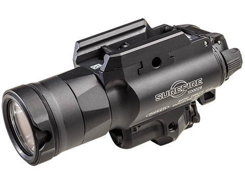 Surefire X400UH-A Ultra High Output 600 Lumens LED Weapon Light with Green Laser