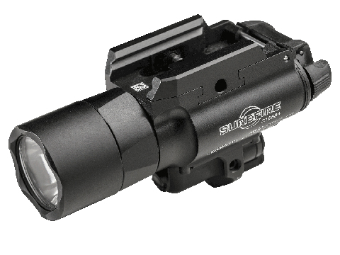 Surefire X400UH-A Ultra High Output 600 Lumens LED Weapon Light with Red Laser