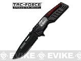 Tac-Force by M-Tech 3.75 Sniper Medallion Assisted Opening Tactical Knife - Black