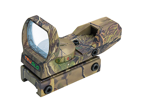 z TruGlo Dual Color Open Red / Green Dot Sight (Color: Camo)