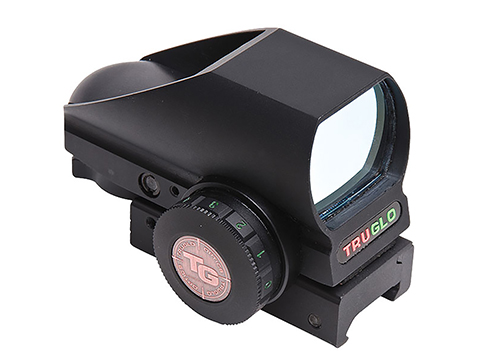 TruGlo Tru-Brite™ Dual Color Open Red / Green Dot Sight with Adjustable Reticle (Color: Black)