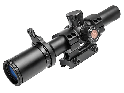 TruGlo TruBrite™ SCP Tactical 1-6x24 Illuminated Rifle Scope