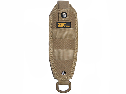 TS Blades EVO Nylon Holster for Dummy PVC Knives (Color: Tan)