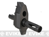 Replacement Front Base w/ Metal Flashhider for MP7 Series Airsoft AEG - Black
