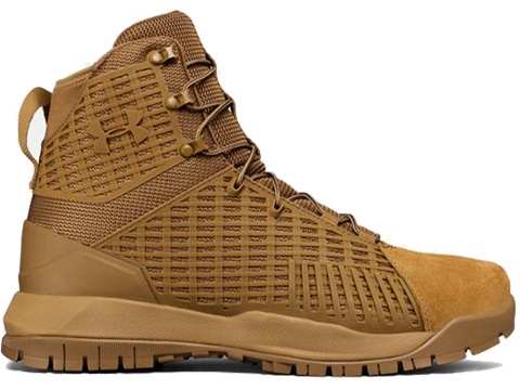 Under Armour Stryker Men's Tactical Boot (Color: Coyote Brown / 8.5)