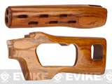 High Grade Real Wood Handguard & Stock Kit for A&K & Comp. SVD series sniper Rifles
