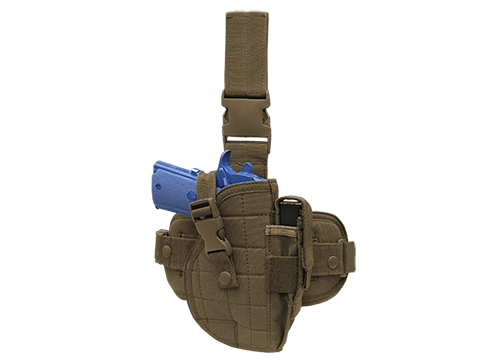 Condor Universal Drop Leg Holster (Color: Coyote)