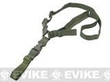 Condor Quick One Point Sling (Color: OD Green)