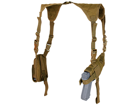 Condor Universal Shoulder Holster (Color: Coyote Brown)