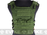 Avengers Compact Operator Airsoft High Speed Plate Carrier - OD Green