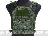Avengers Compact Operator Airsoft High Speed Plate Carrier - Digital Woodland