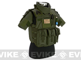 Matrix S.D.E.U. Ultra Light Weight Airsoft Tactical Vest (Color: OD Green)