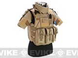 Pre-Order Estimated Arrival: 03/2014 --- Matrix S.D.E.U. Ultra Light Weight Airsoft Tactical Vest - (Tan)