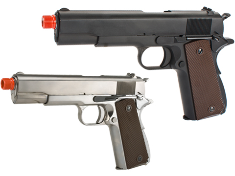 (NEW YEAR'S EPIC DEAL!!!) WE-Tech Full Metal 1911 GI Full Size Airsoft GBB Pistol