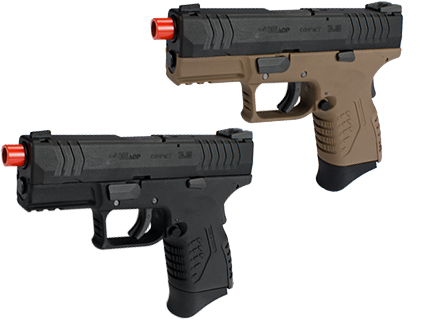 WE-Tech DM 3.8 Compact Airsoft GBB Pistol