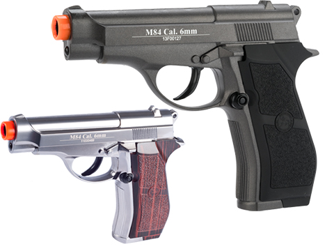 WG Full Metal M84 Compact Airsoft Co2 Powered Airsoft Gas Pistol