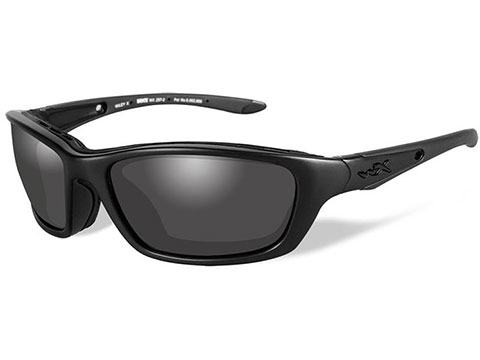 48a4ded97ef Wiley X Brick Sunglasses (Color  Black Ops   Smoke Grey lens with Matte  Black
