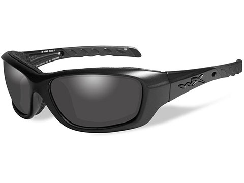 Wiley X Gravity Sunglasses (Color: Black Ops with Smoke Grey lens Matte Black frame)